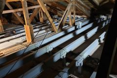Výroba ocelových konstrukcí a ocelové vazníky jsou taktéž součástí výroby Zámečnictví Nováček s.r.o.